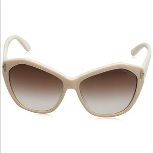 NIB Tom Ford Angelina sunglasses TF317 25G ivory